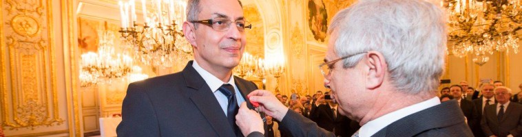 Ardavan Amir-Aslani, from Cohen Amir-Aslani, received the French Légion of Honor